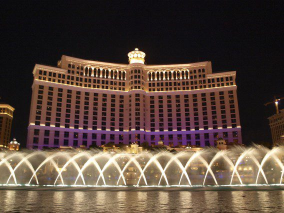bellagio fountains casino