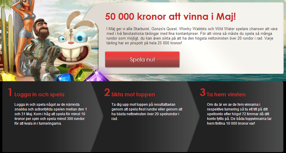 nordicbet maj turnering