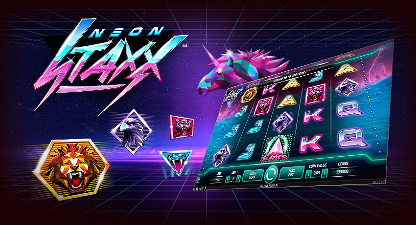 Neon Staxx Online Slot - NetEnt - Rizk Online Casino Sverige