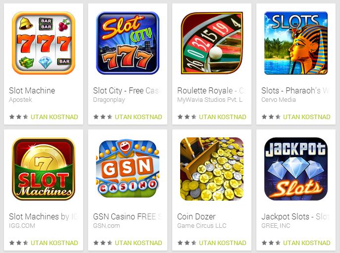 casino appar gratis